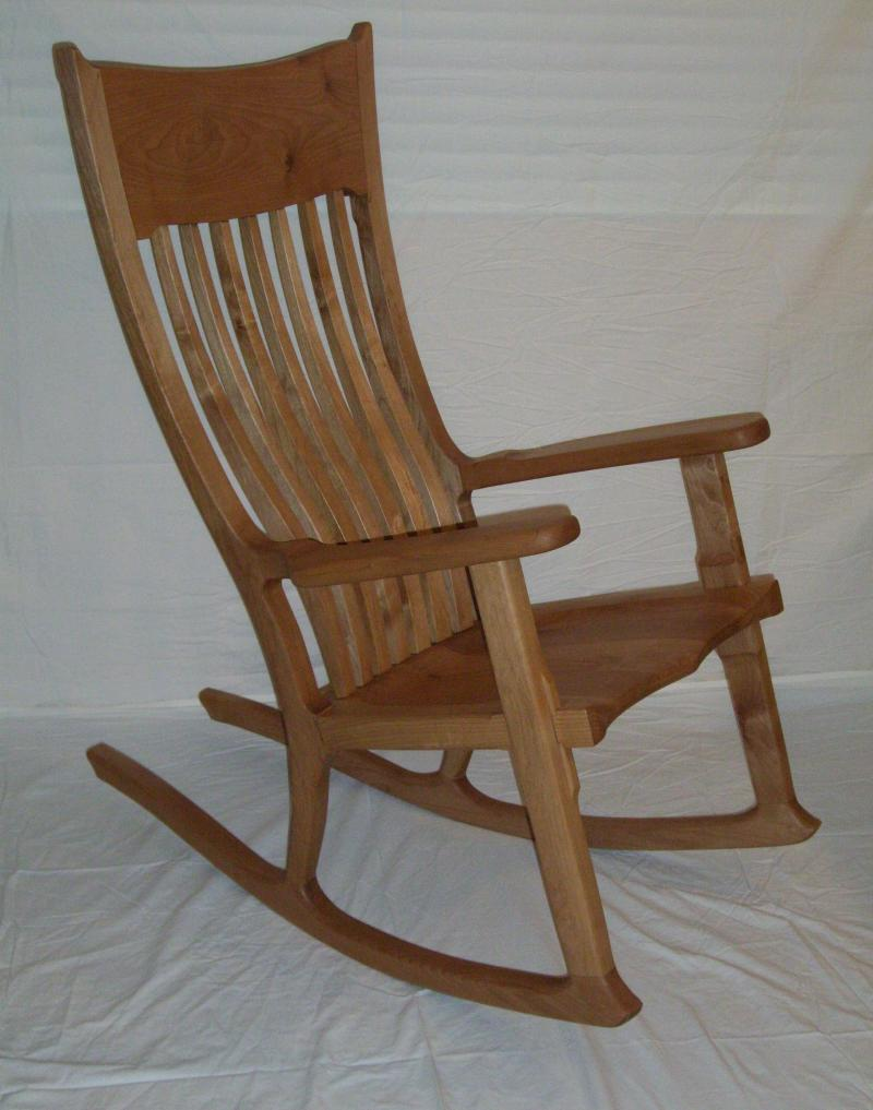 Solid Hardwood Rocking Chairs For Every Occasion; Birth Retirement